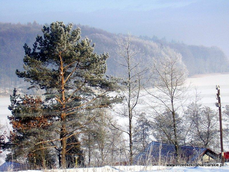 Wieżyca zimą